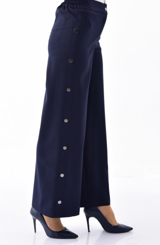 Snaps Trousers 3130-03 Navy Blue 3130-03
