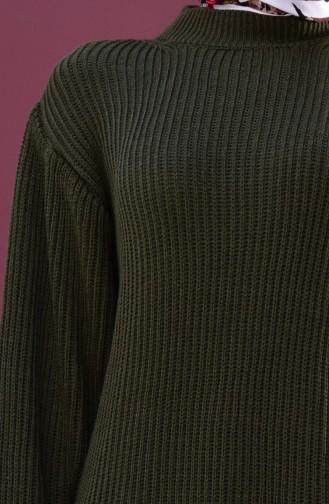 Knitwear Sweater 3096123-01 Khaki 3096123-01