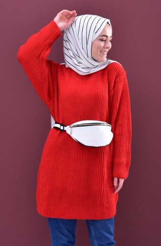 Knitwear Sweater 3096123-08 Red 3096123-08