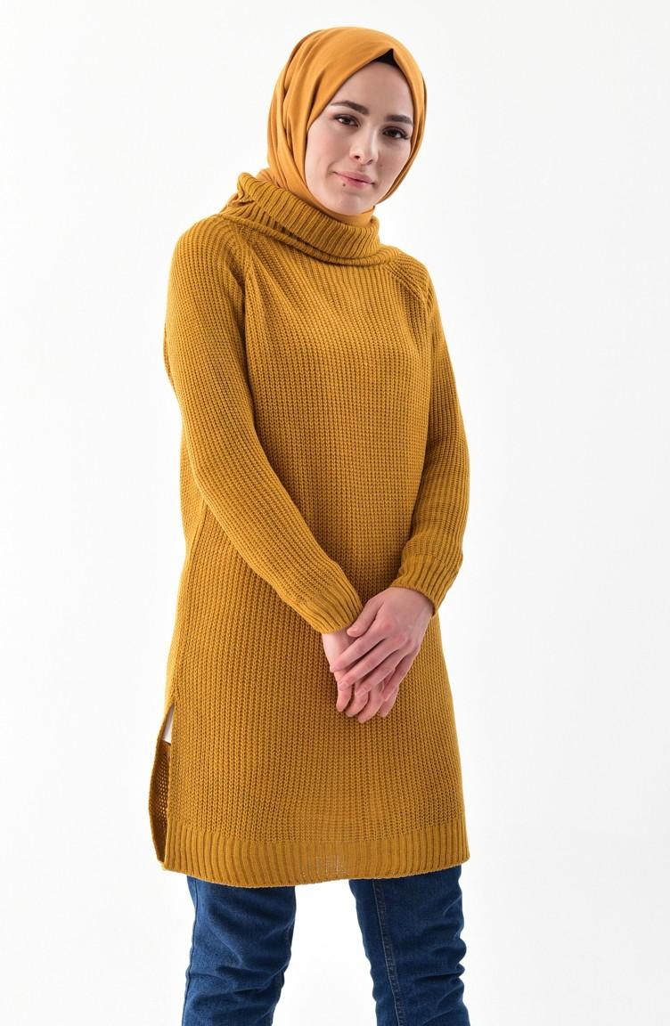 Turtleneck Knitting Sweater 2017 20 Mustard 2017 20
