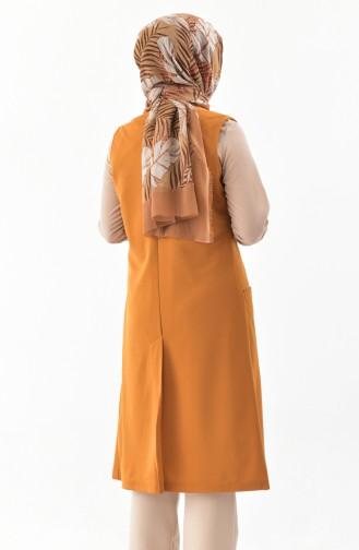 Mustard Gilet 1047-06