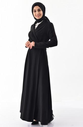 Arched Long Cap 4246-01 Black 4246-01