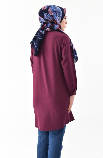 Tunic Shirt 0694-16 Maroon 0694-16