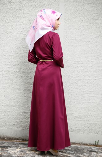 Zwetschge Hijap Kleider 8212-01
