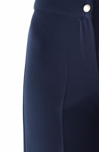 Pantalon Bleu Marine 3129-03