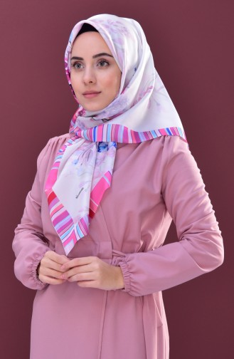 Pink Scarf 02