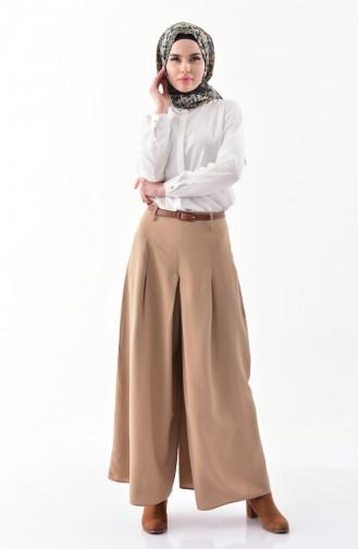 Viscose Pants Skirt 8109-07 Mink 8109-07