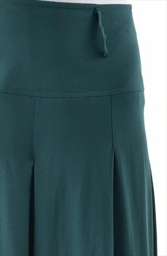 Smaragdgrün Hosenröcke 8109-04