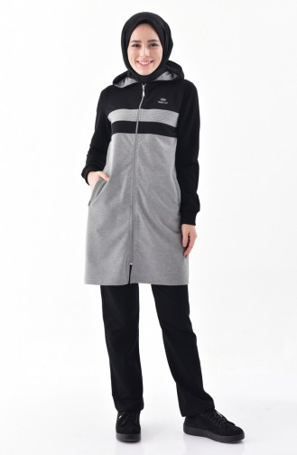 Pocket Tracksuit 95148-01 Black Gray 95148-01
