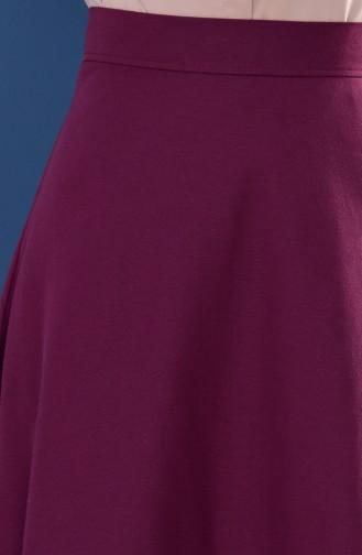 Minahill Zippered Skirt 8211-02 Damson 8211-02