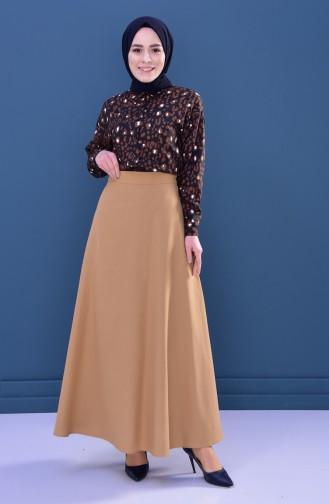 Minahill Zippered Skirt 8211-04 Mustard 8211-04