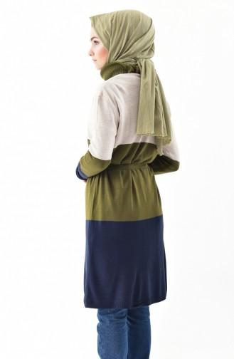 Knitwear Seasonal Cardigan 7148-03 Cream Khaki 7148-03
