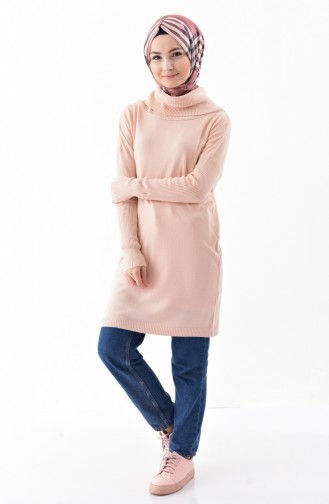 Knitwear Polo-neck Sweater 5162-03 Powder 5162-03