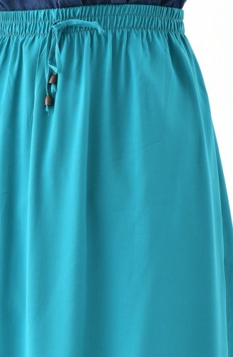 DURAN Ruffled Skirt 1075-04 Green 1075-04