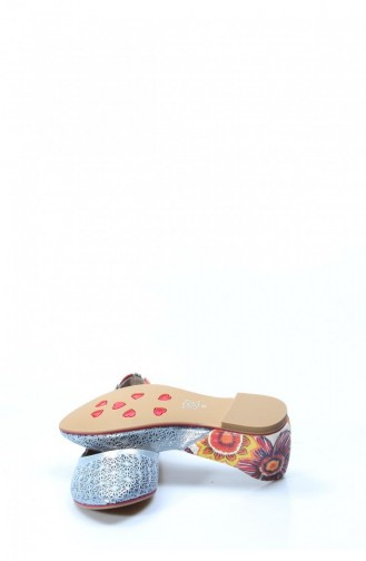 Blue Woman Flat Shoe 763ZA019-16781672