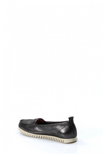 Black Woman Flat Shoe 863ZA520-16781631