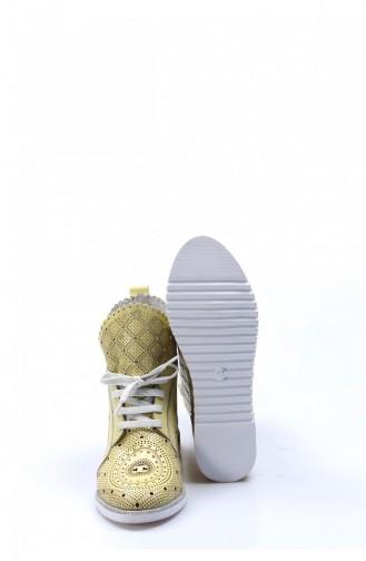 Fast Step Casual Shoes 407Za645 81 Yellow 407ZA645-16781648