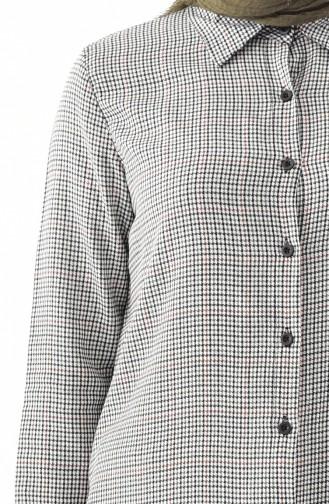 Buttoned Tunic 8113-02 Khaki 8113-02