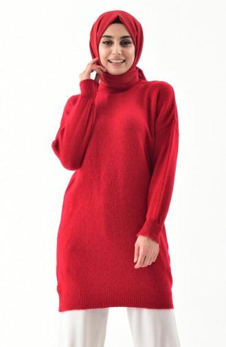 Triko Kazak 4098-04 Kırmızı 4098-04