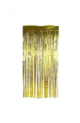 Kapı Perdesi KM-SUS-1252 Altın