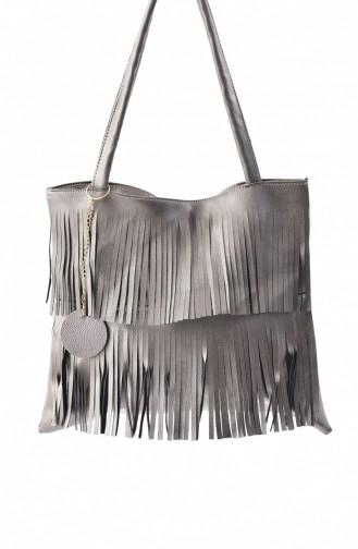 Stilgo Women´s Shoulder Bag Ak04Z-07 Platinum 04Z-07