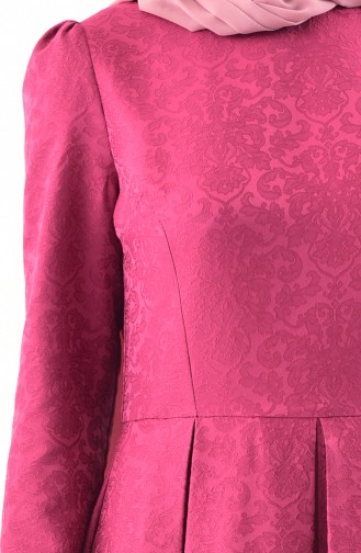 Fuchsia Hijap Kleider 7235-05