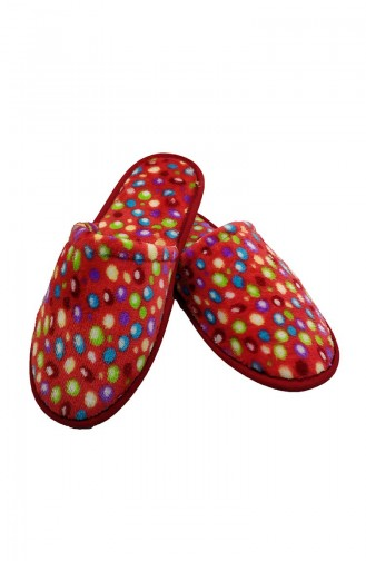 Women s Slippers Pnr03-02 Red 03-02