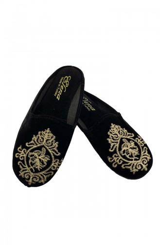 Black Woman home slippers 15