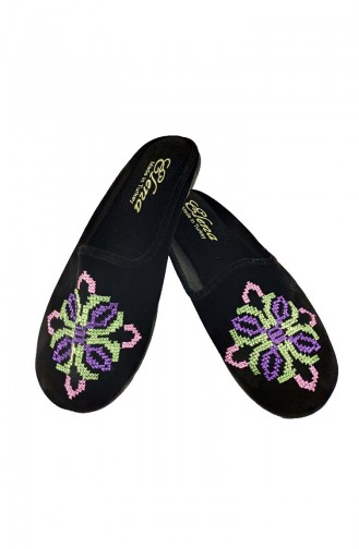 Black Woman home slippers 17