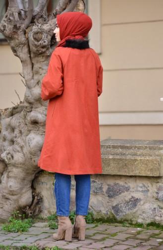 Tile Long Coat 50325B-01
