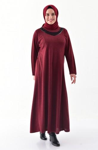 Robe Hijab Bordeaux 4890-04