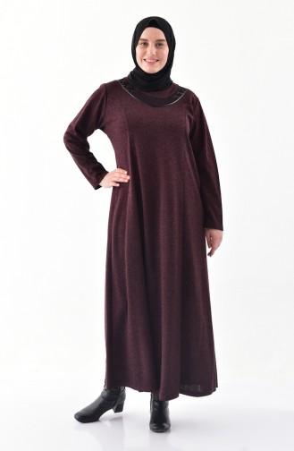 2b5171facb894 Kışlık Tesettür Elbise Modelleri ve Fiyatları - Tesettür Giyim ...