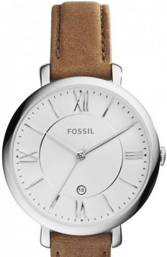 Fossil Es3708 Bayan Kol Saati 3708