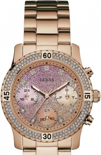 Rosa Haut Uhren 0774L3