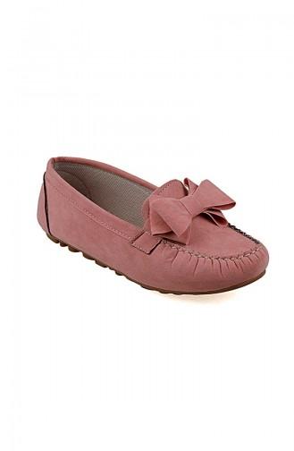 Velvet Flat Shoe 0104-10 Powder 0104-10