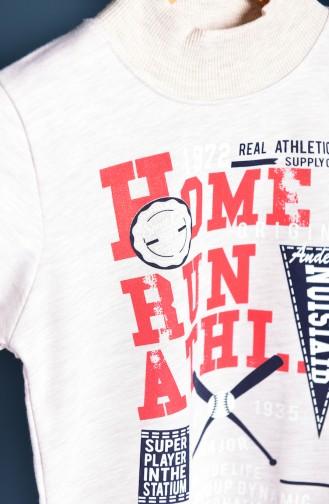 Sweat Pour Enfant 100-1 Creme 100-1