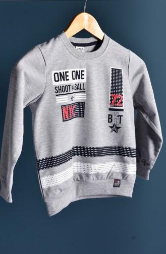 Gray Baby en Kindersweatshirts 102-6