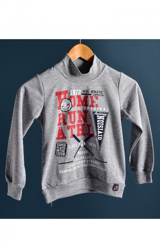 Gray Baby en Kindersweatshirts 100-6