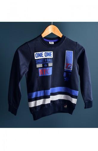 Navy Blue Baby en Kindersweatshirts 102-3
