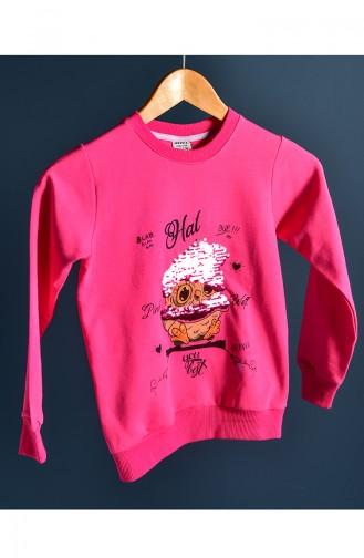 Pink Baby and Kids Sweatshirt 121-5