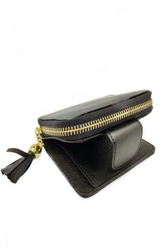 Womens Wallet Dvp01-01 Black 01-01