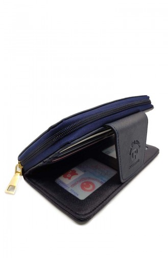 Women´s Wallet Dvp09-05 Navy Blue 09-05
