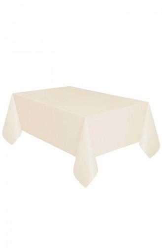 Plastik Masa Örtüsü TM-DGR-0722 Krem