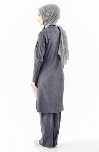Cardigan Pants Double Suit 3300B-01 Smoked 3300B-01