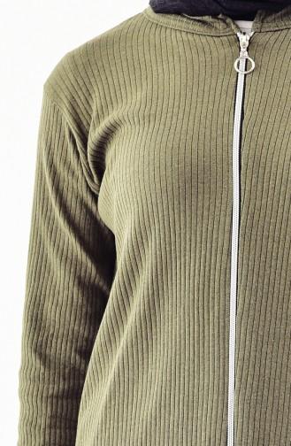 Cardigan Pants Double Team 3300C-01 Khaki Green 3300C-01