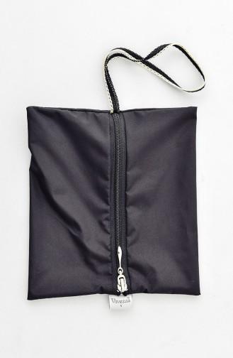 Çantalı Kapüşonlu Yağmurluk 6812-01 Siyah Haki 6812-01