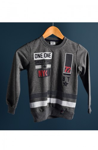 Anthracite Baby en Kindersweatshirts 102-4