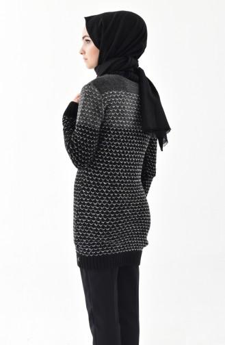 Knitwear Silvery Sweater 8010-02 Black 8010-02