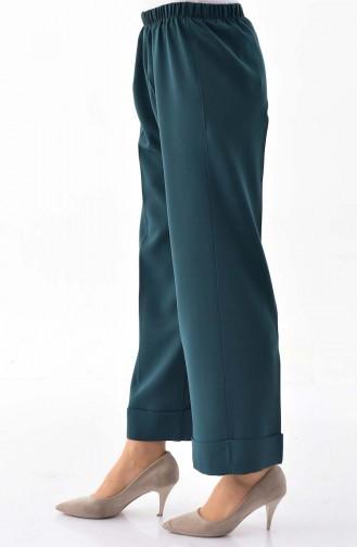 Elastic Waist Pants 5213-06 Green 5213-06