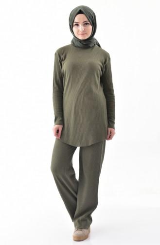 Tunic Trousers Double Suit 3313D-01 Khaki 3313D-01